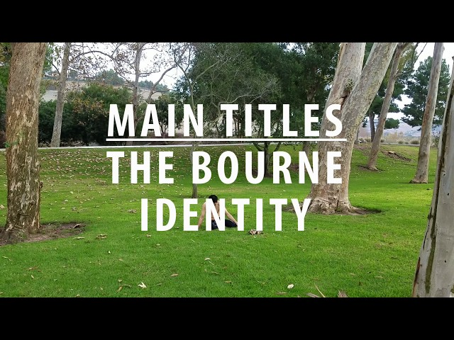 MAIN TITLES - THE BOURNE IDENTITY -  JOHN POWELL | Edward Chang Choreography
