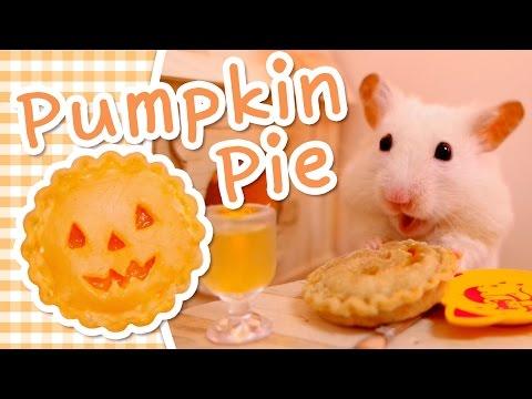 🎃 Pumpkin Pie | HAMSTER KITCHEN 🎃