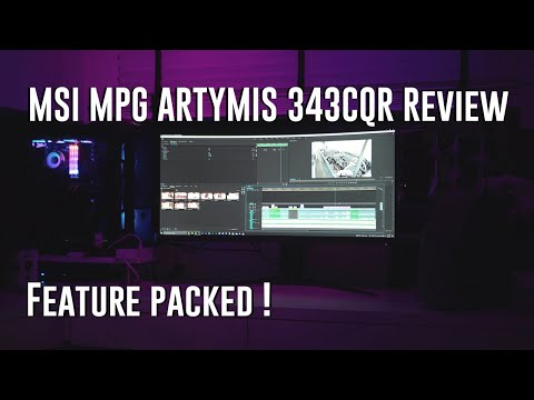 MSI MPG ARTYMIS 343CQR Review Your next ultrawide gaming monitor?