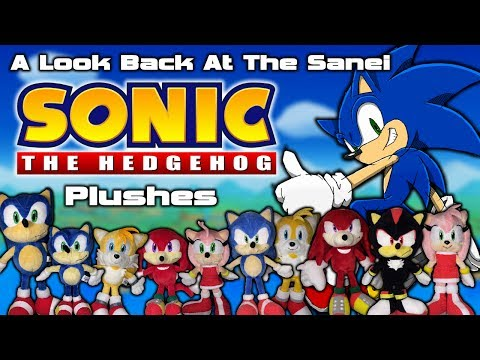 A Look Back At The Sanei Sonic The Hedgehog Plushes!