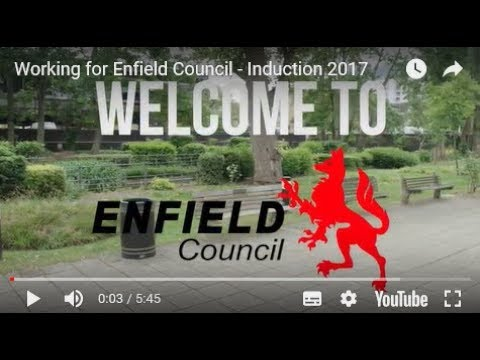 Working for Enfield Council - Induction 2017