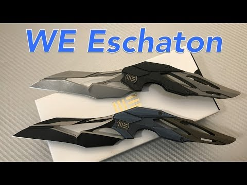 WE Eschaton Elijah Isham design WE719A (Blue) WE719B (Carbon Fiber) Wonderful Flight of Fancy