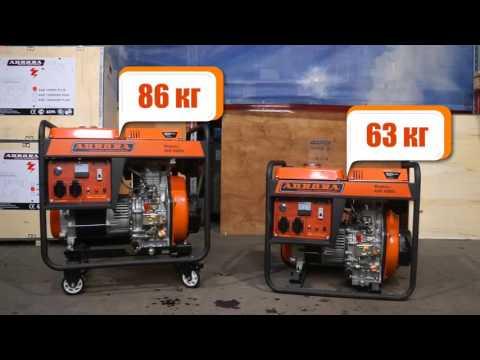 Дизельные генераторы Aurora ADE 4500D и 6500D
