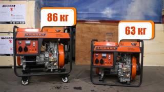видео Дизель-генератор