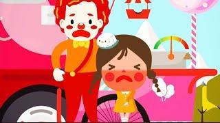 [씽씽츄] #12 놀이동산에 놀러가서 사탕 아이스크림 솜사탕 먹고 배탈이 났어요! 응가놀이 화장실 배변훈련 만화 애니메이션