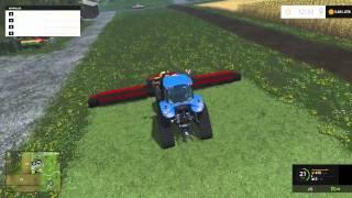 Farming Simulator 2015 Dodge 13m Cutter Mod