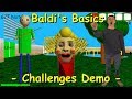 Gambar cover Baldi's Basics - Challenges Demo Original Baldi's Basics