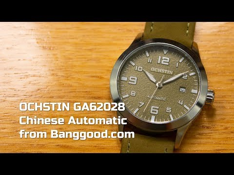Watch Review Ochstin GA62028 Chinese Automatic By Banggood