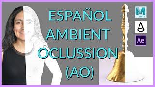 Español Autodesk Maya Tutorial: Ambient Occlusion (AO) Pass utilizando Arnold