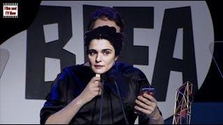 Olivia Colman delivers hilarious speech on behalf of Rachel Weisz at BIFA Awards