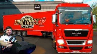 Приключения в конвое - Euro Truck Simulator 2