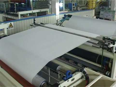 New Design YD-PL600E Non-Stop JRT / Industrial Roll Rewinding Line (With Lamination system) - YouTube