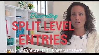 Decorating A Split Level Foyer