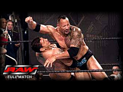 WWE | THE ROCK VS BATISTA | (FIRST AND LAST TIME EVER) thumbnail
