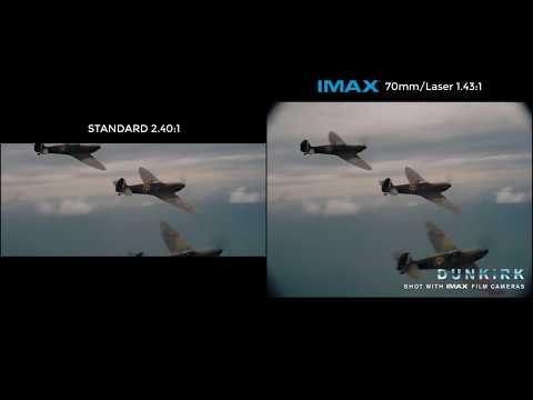 DUNKIRK — IMAX 70mm footage vs Standard footage