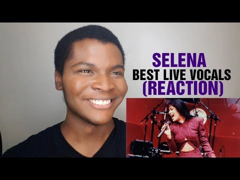 SELENA - Best Live Vocals (REACTION)