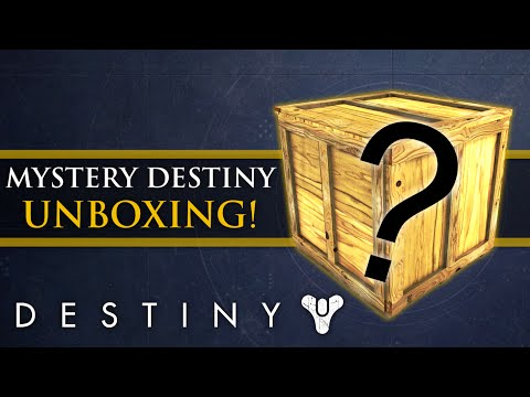 Destiny - Rise of Iron: Mysterious package Unboxing