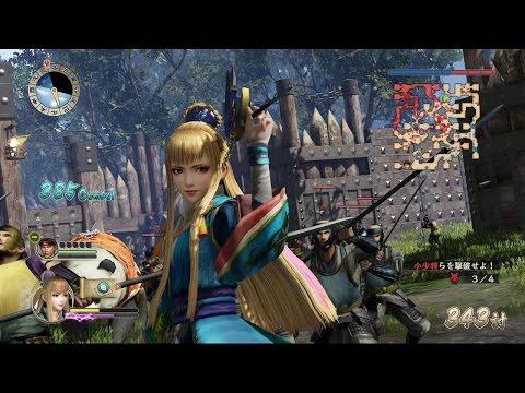 Sengoku Musou Sanada Maru (Samurai Warriors Sanada Maru) - Chacha Gameplay (Chaos Difficulty)