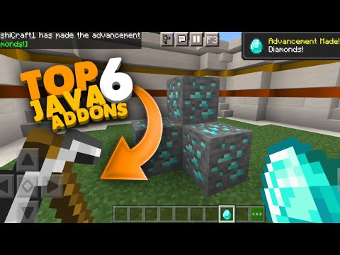 (NEW)TOP 6 JAVA EDITION ADDON FOR MINECRAFT PE/BE 1.16+