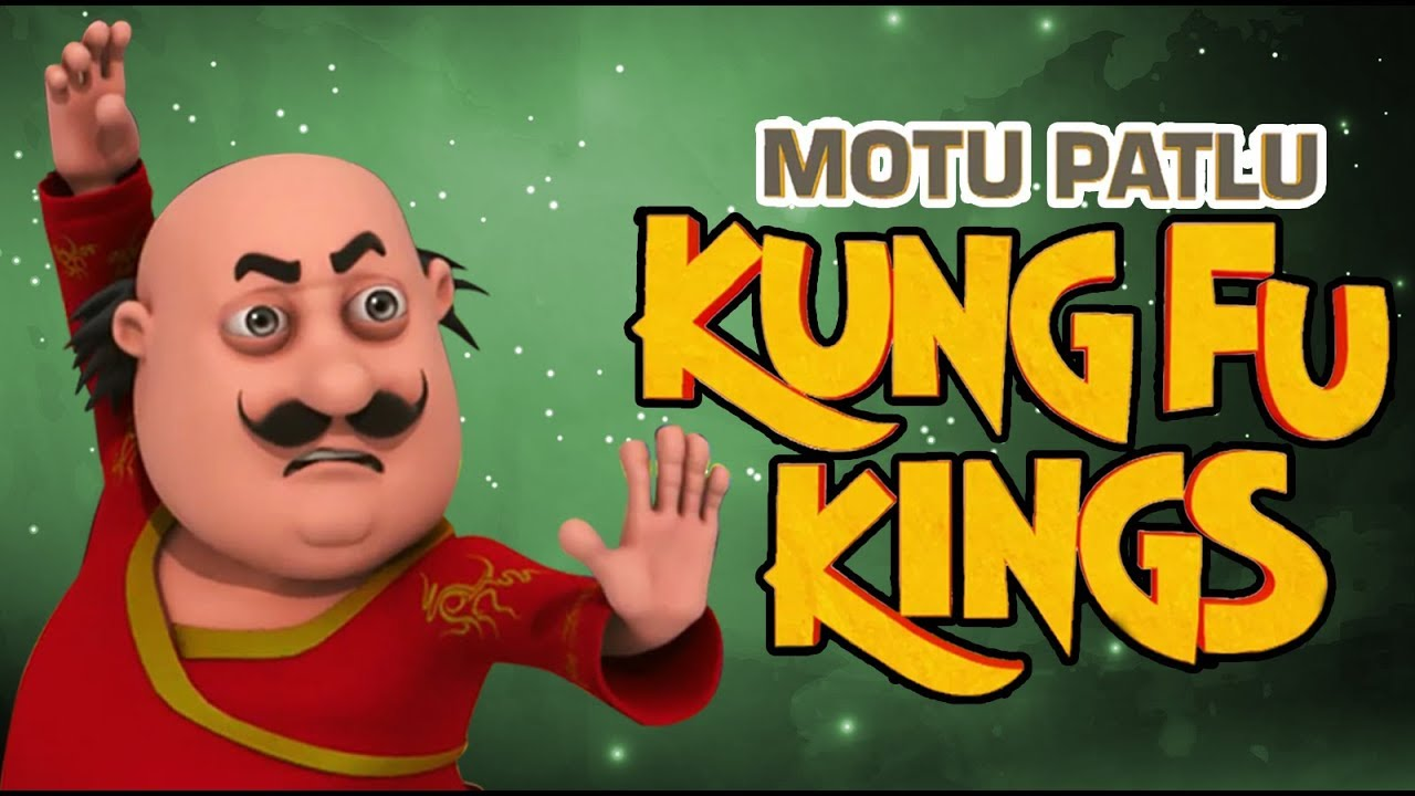 Motu Patlu - Kunf Fu Kings | Funny Cartoon Movies for kids | Cartoons In Hindi