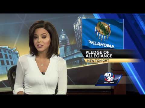 Oklahoma students to recite pledge daily if House bill passes [