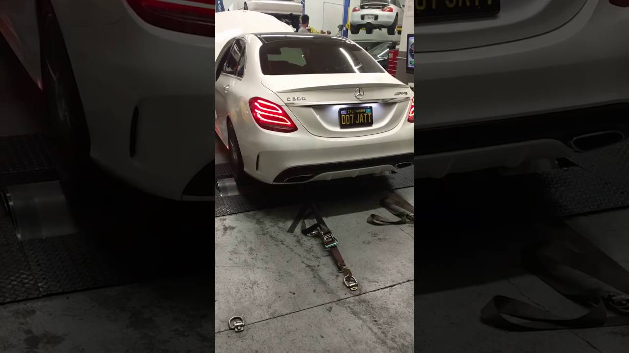 Awe Tuning Mercedes Benz W205 C300 Switchpath Exhaust