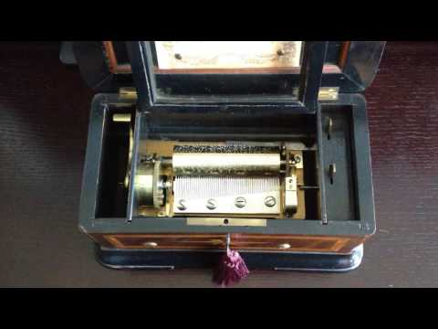1870s Paillard Musical Box