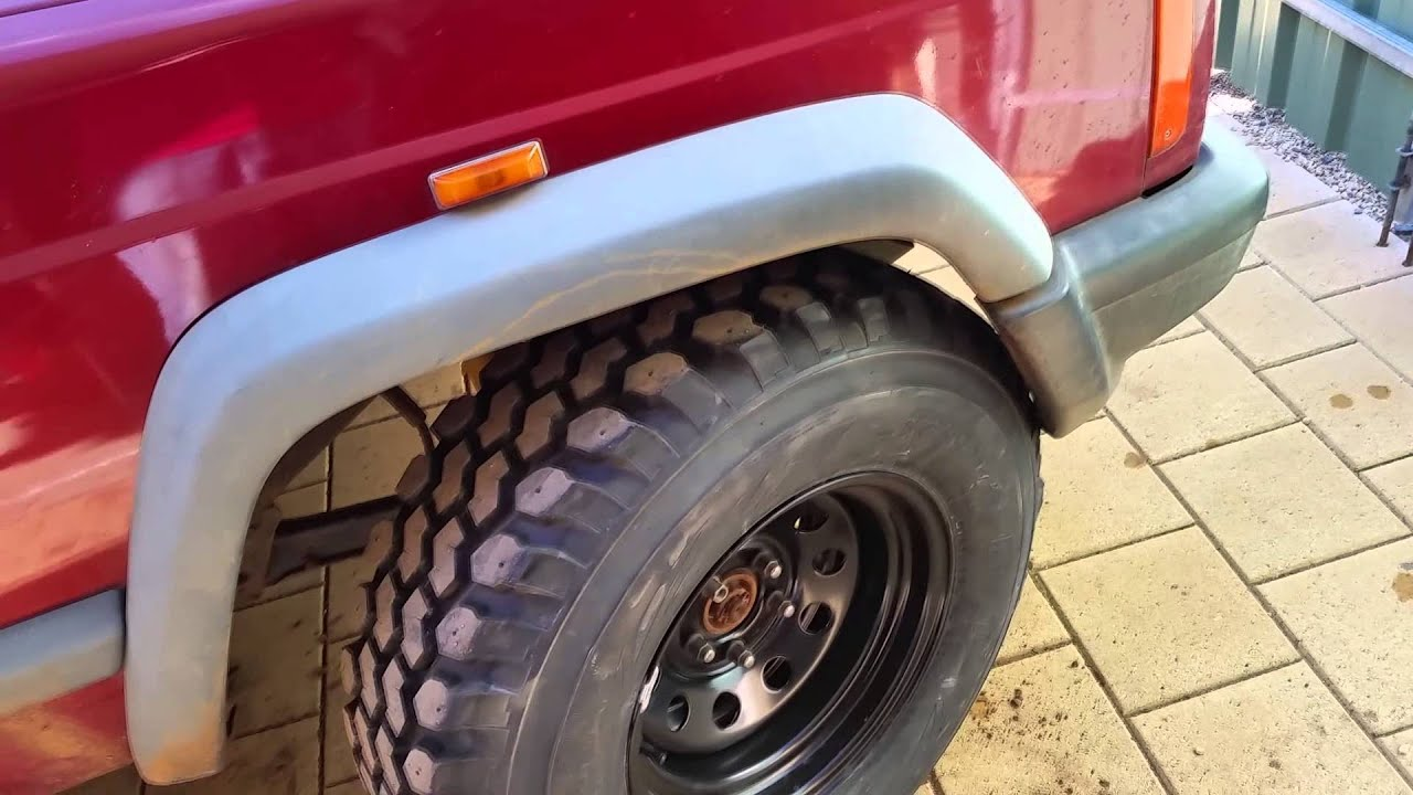 "Ford Escape Dimension >> Do 31"" tires fit on a stock XJ Jeep - YouTube"