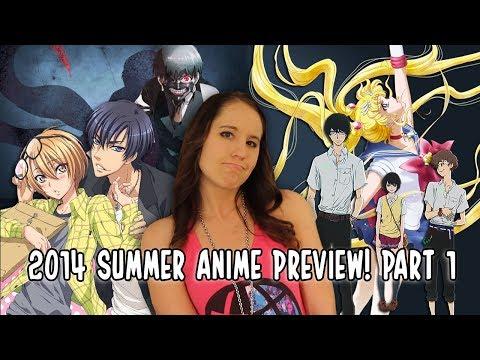 Summer 2014 Anime Preview! Pt. 1 (Sailor Moon: Crystal, Zankyou no Terror, Love Stage & More!)