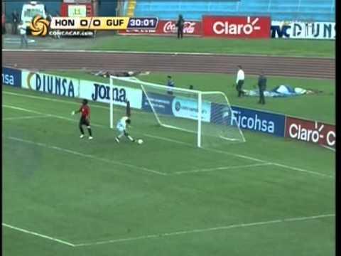 TVC Honduras/ Guayana Francesa- Primer gol de Honduras ante Gauyana, vuelta de repechaje