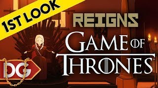 Reigns: Game of Thrones - First Look At!