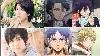 ①00:00 Hiroshi kamiya(神谷浩史)&Yuki kaji(梶裕貴) ②01:31 Hiroaki h...