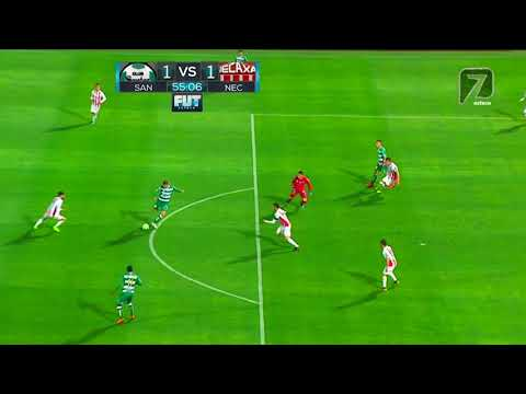 Gol de J. Furch | Santos Laguna 1 - 1 Necaxa | LIGA Bancomer MX - Clausura 2019 - Jornada 11