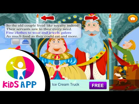 Story every night - The fisher and golden fish - Alice in wonderland - Cinderella - A best Kid's App