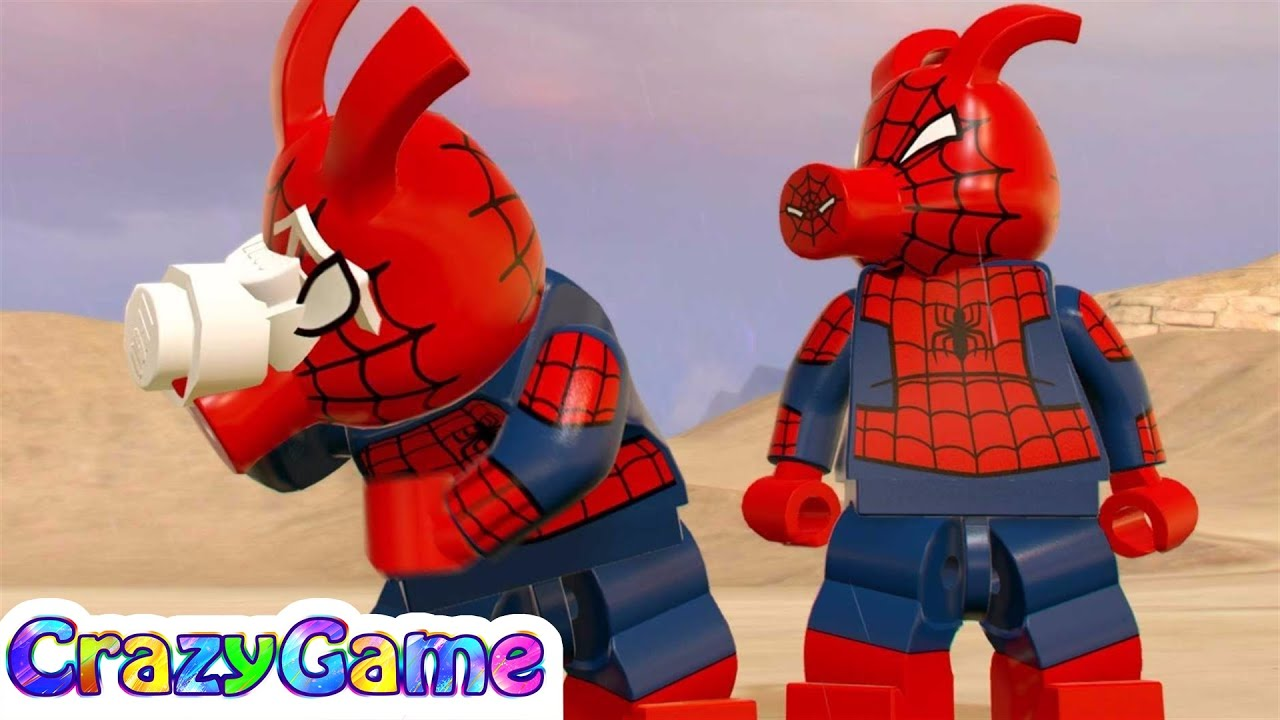 LEGO Marvel Super Heroes 2 How to Unlock Pig Spider-Man ...