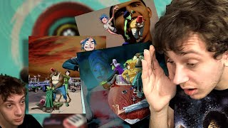 First Reaction to Gorillaz - Momentary Bliss, Désolé, and Aries (& Review)