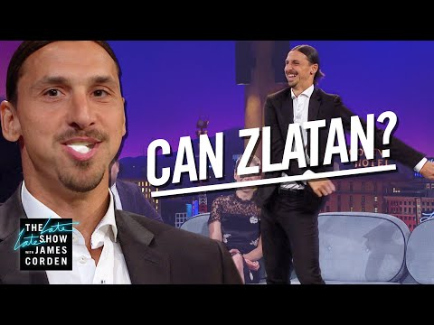Zlatan Ibrahimovic Can Really Do Anything