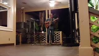 Jon Cruz live acoustic Kauai 11-17-2018 Fly gonna die