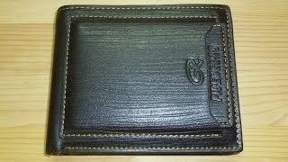 Обзор бумажника из Китая
