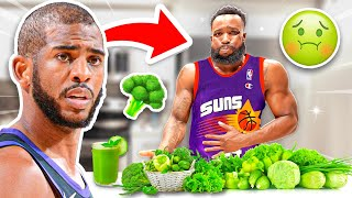 Eating Phoenix Suns Chris Paul's Plant Based Diet & Workout For 24 Hours!