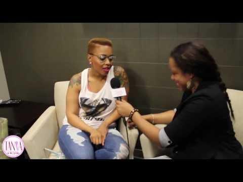 Chrisette Michele Talks