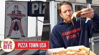 Barstool Pizza Review - Pizza Town USA (Elmwood Park, NJ)