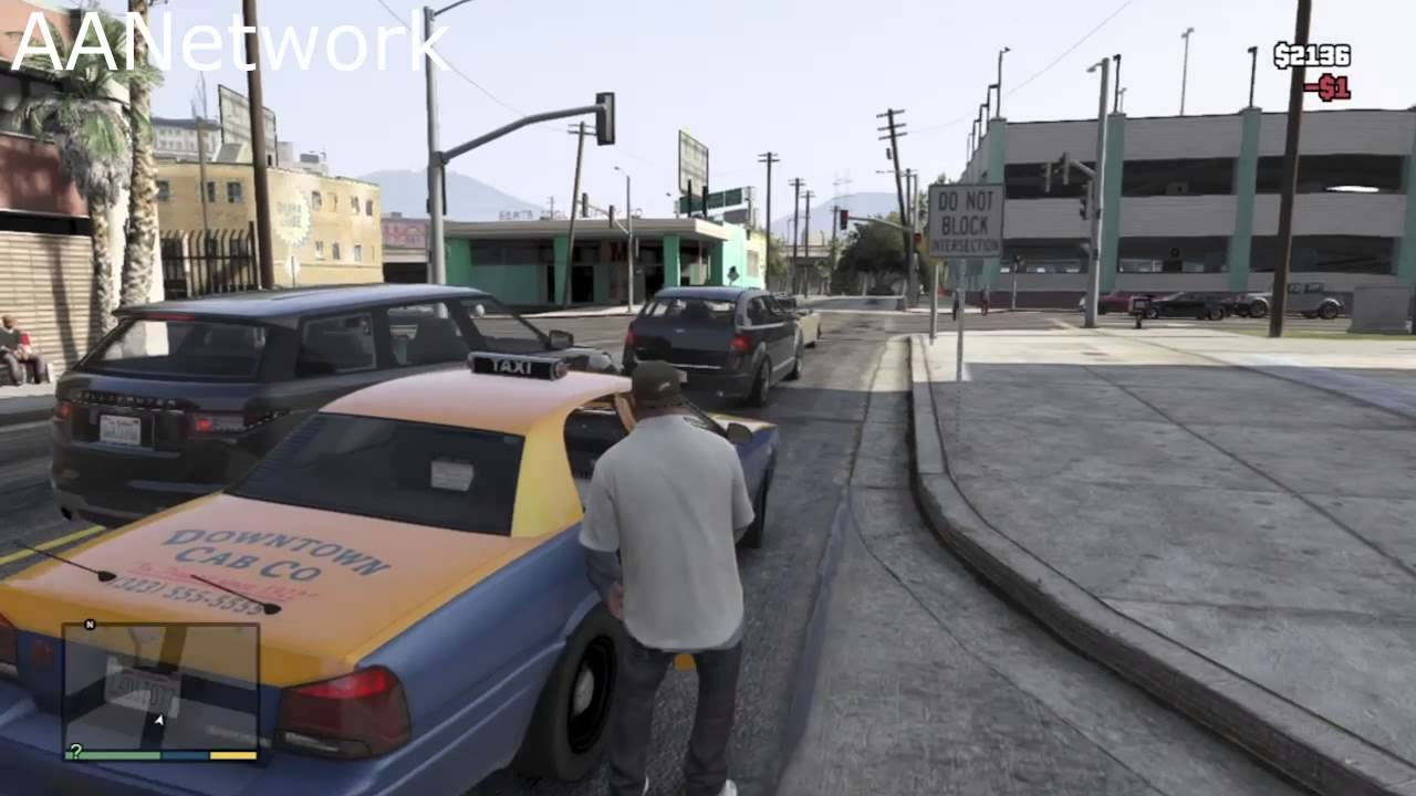 The Taxi Service In Gta 5 Youtube