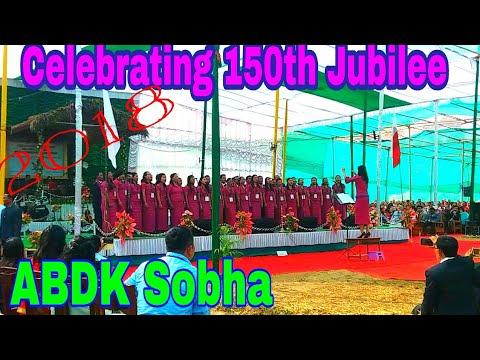 ABDK 150th Jubilee 2018. Rajasimla, North Garo Hills, Meghalaya. India
