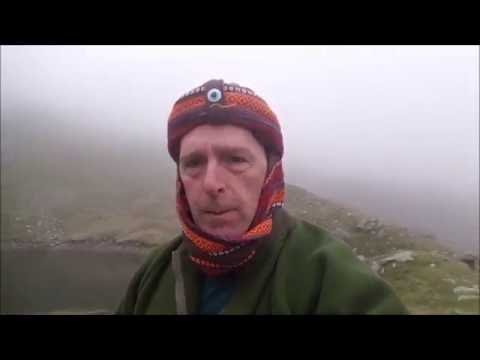 blind tarn wild camp and the old man Afghanistan