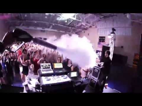 High School Prom Party Dance uses CryoFX Co2 Special Effects Cannon Gun