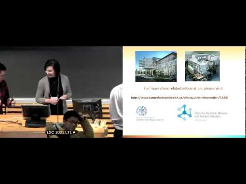UBC Alzheimer Research Forum 2015