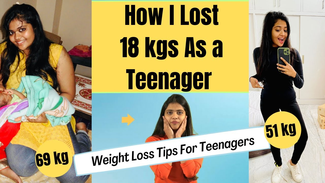 How i lost 18kgs as a Teenager without Gym | Weight Loss Tips for Teenagers | Somya Luhadia