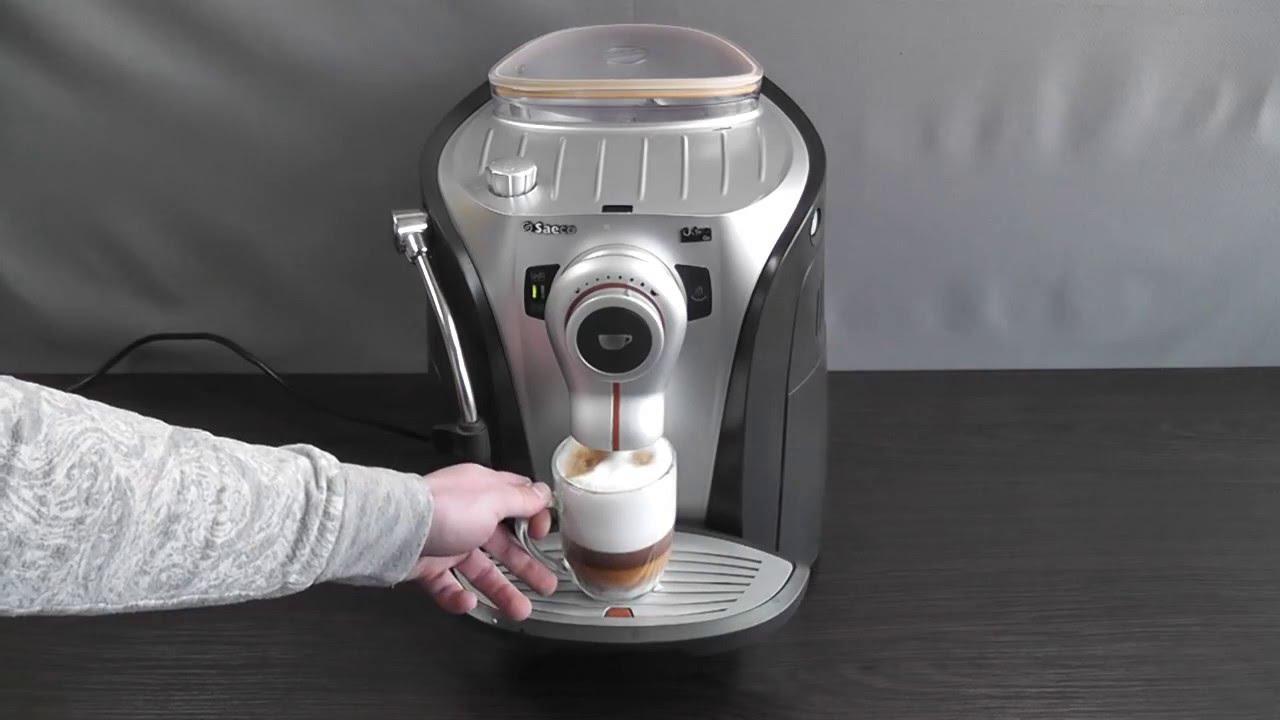 Кофемашина Saeco Odea Go, инструкция, видео обзор!