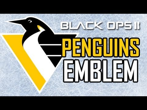 new style b09f2 c5253 PITTSBURGH PENGUINS LOGO - Black Ops 2 Emblem Tutorial